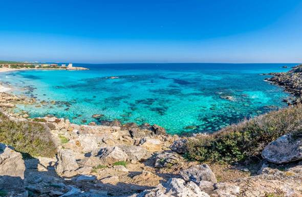 north cyprus karpaz turquois sea